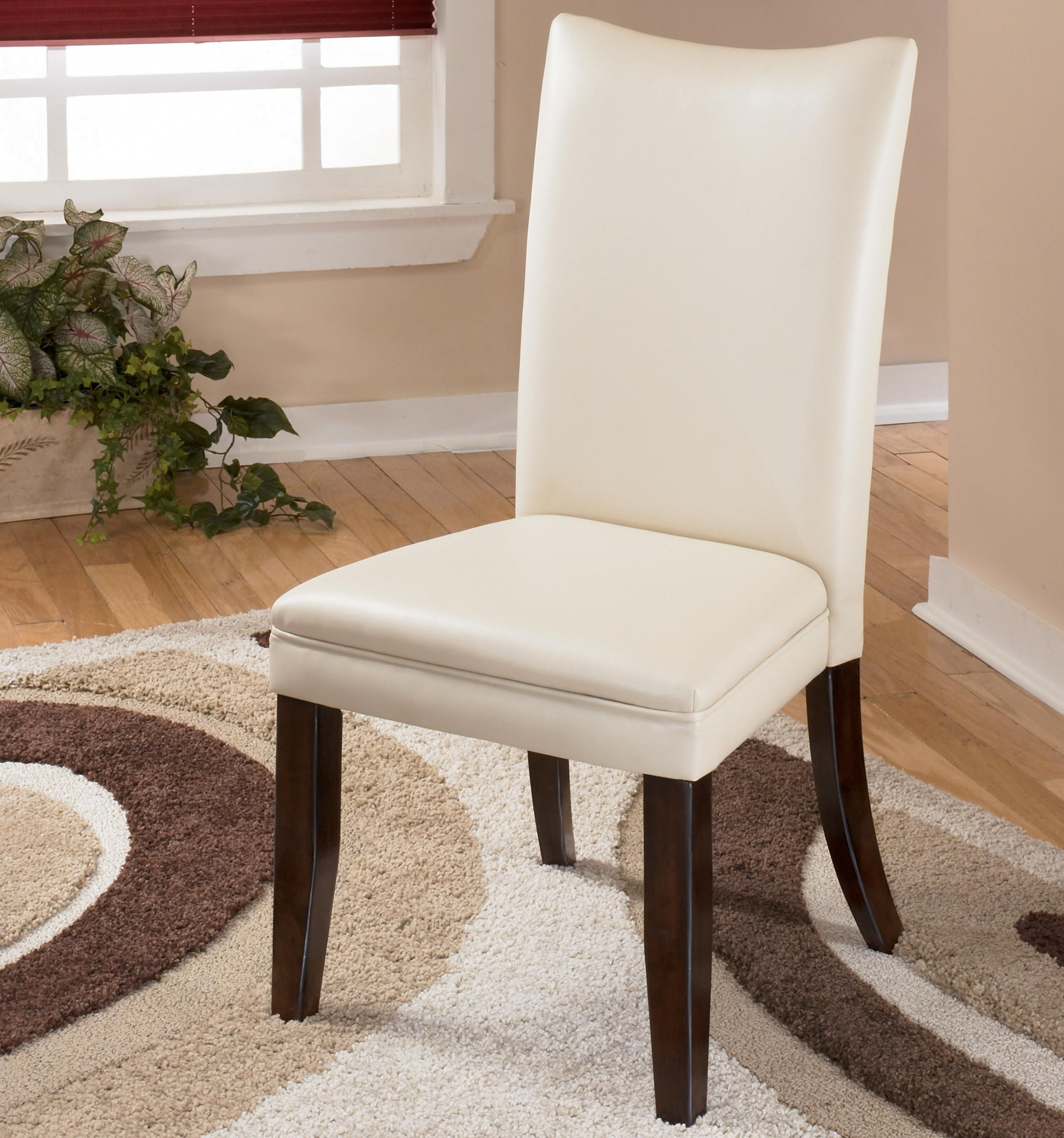 Charrell Ivory Side Chair by Signature Design by Ashley