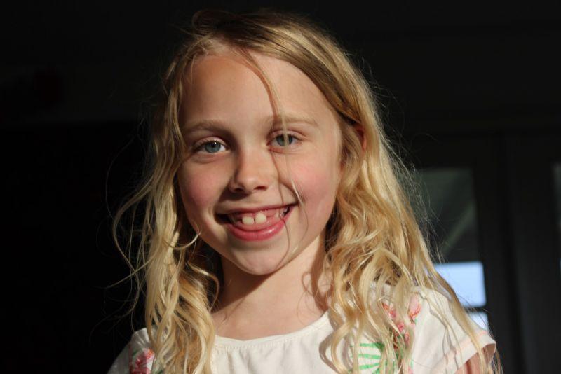 Philine, 8 jaar by Juliette Enthoven