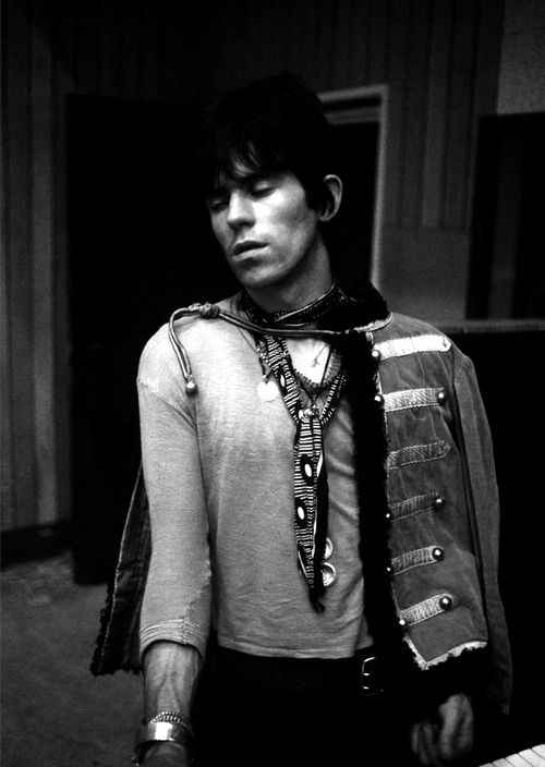Keith Richards; captured by Gered Mankowitz