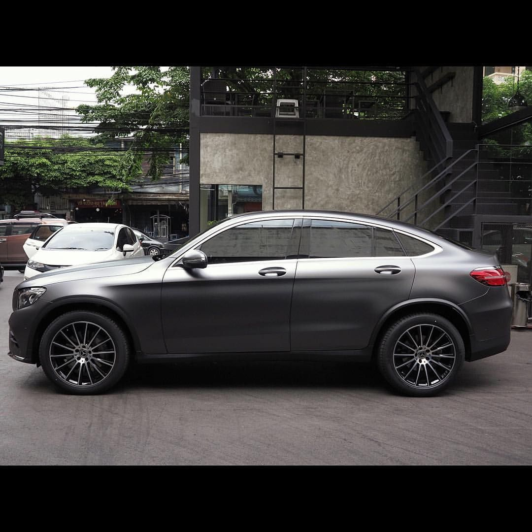 Benz Glc Satin Dark Grey Mercedes Benz Glc Amg Wrapacar