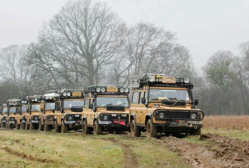 Camel Trophy Land Rover Defender 110 Td5 Sw County