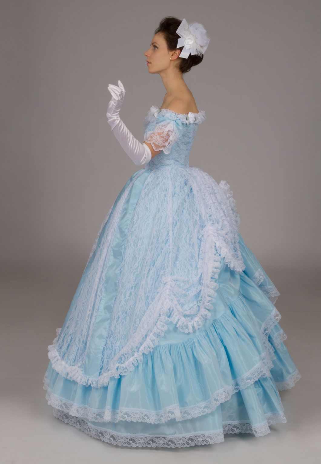 Victorian, Edwardian, and Civil War Ball Gowns | TRAJES DE BAILE ...