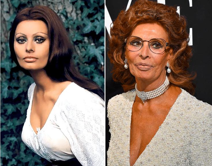 Sophia Loren Then And Now Sophia Loren Movie Stars Kate Jackson