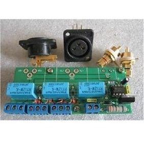 Pre Amp Output Delay Protection Board Balance RCA