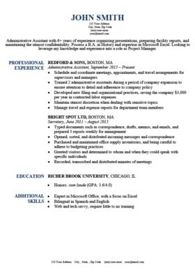 Expert Preferred Resume Templates Basic Simple Resume Genius Basic Resume Simple Resume Simple Resume Template