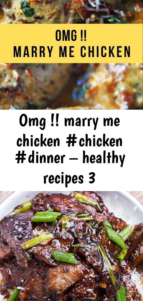 Omg !! marry me chicken #chicken #dinner – healthy recipes 3 #marrymechicken OMG !! Marry Me Chicken #chicken #dinner – Healthy Recipes Mongolian Beef (PF Changs copycat). So easy to make and tastes even better than the real thing! Vegan Cookie Dough Cheesecake – VeggieJeva Home-Style Beef 'n Noodles with Mushrooms & Onions                                                                                                                                                     More #marrymechicken