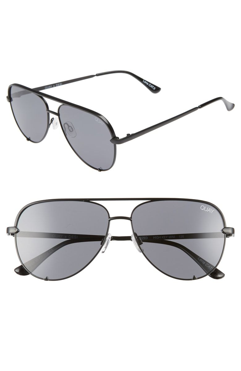 416b2fca14 Free shipping and returns on Quay Australia x Desi Perkins High Key Mini  57mm Aviator Sunglasses