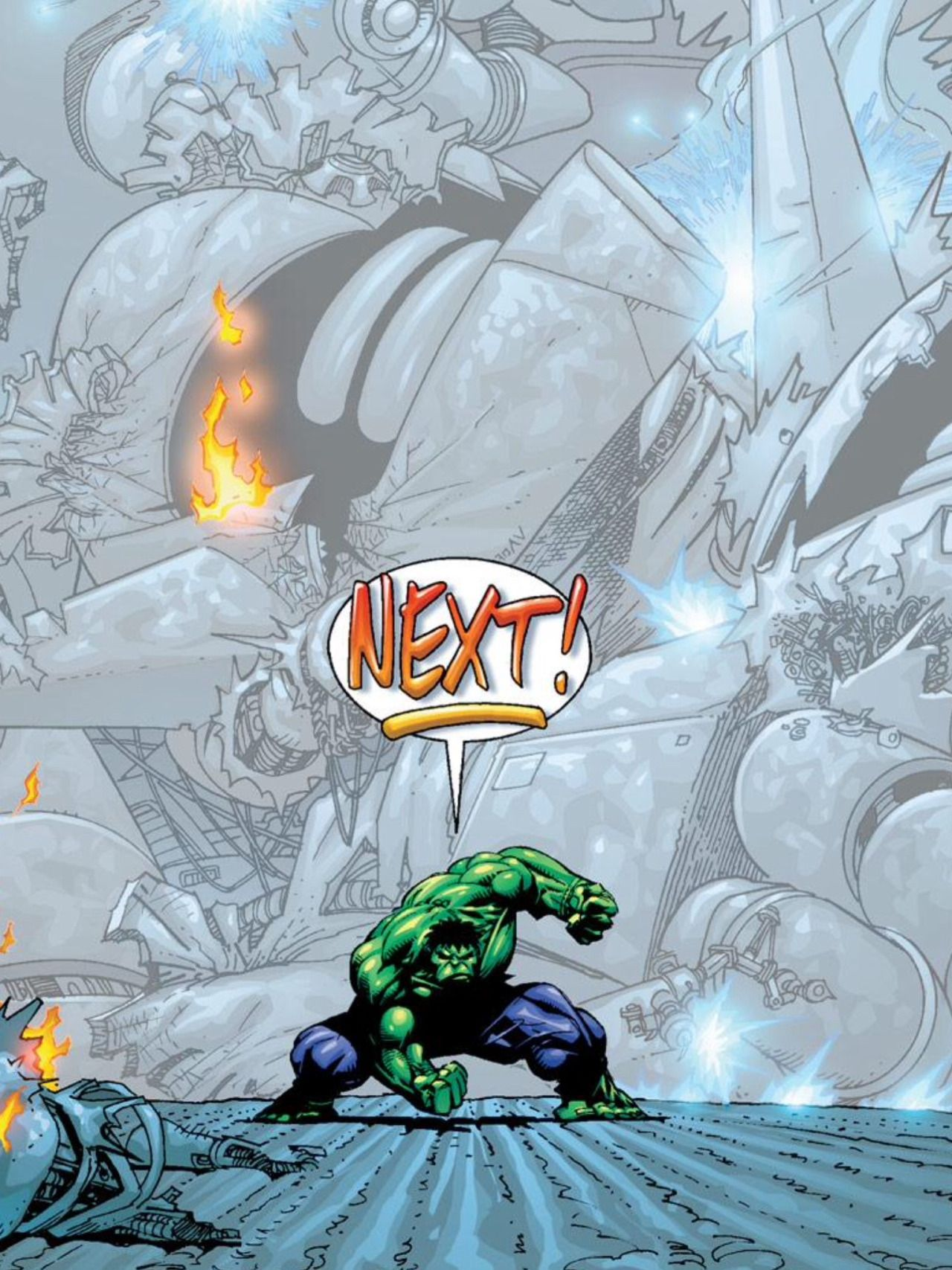 #Hulk #Fan #Art. (The Incredible Hulk #463 Cover) By: Adam Kubert. (THE * 5 * STÅR * ÅWARD * OF: * AW YEAH, IT'S MAJOR ÅWESOMENESS!!!™)[THANK Ü 4 PINNING!!!<·><]<©>ÅÅÅ+(OB4E)