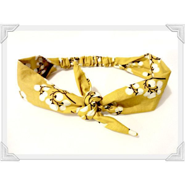 Tie Headband Mustard Vintage Bow Tie Head Scarf Printed HairScarf ($10) ❤ liked on Polyvore featuring accessories, hair accessories, hair, vintage head scarves, bow headband, hair scarves, vintage bandana and vintage headbands #tieheadscarves Tie Headband Mustard Vintage Bow Tie Head Scarf Printed HairScarf ($10) ❤ liked on Polyvore featuring accessories, hair accessories, hair, vintage head scarves, bow headband, hair scarves, vintage bandana and vintage headbands #tieheadscarves Tie Headba #tieheadscarves