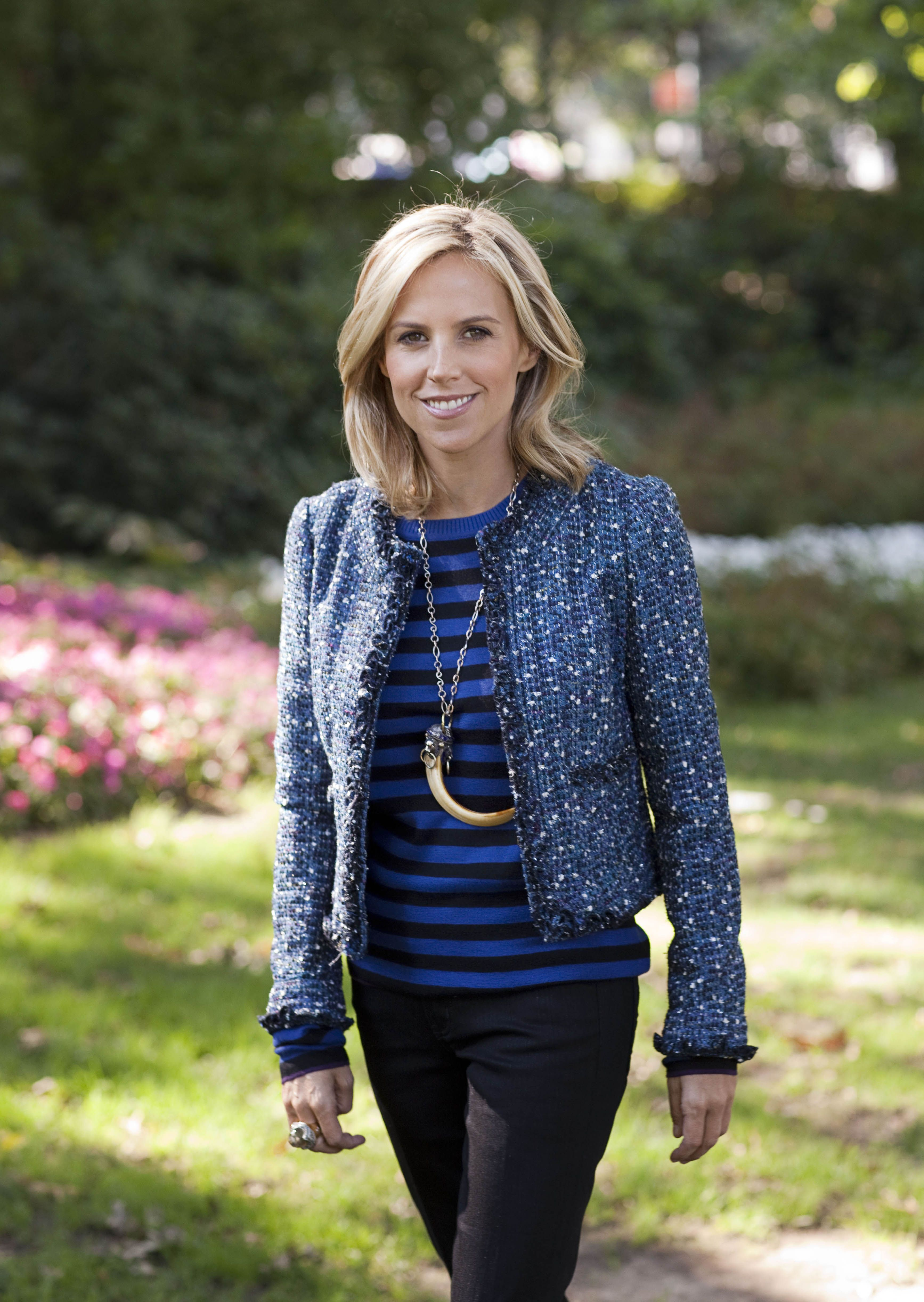 8248acd09d44 love mixing patterns like tory burch does