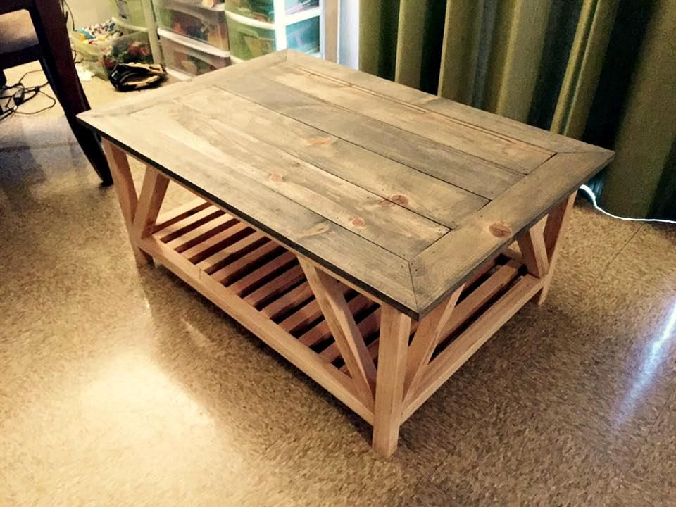 Pallet Coffee Table with Two Shelf Layers   Top 14 Pallet Furniture Projects  That Inspired You. Top 14 Pallet Furniture Projects That Inspired You   wood projects