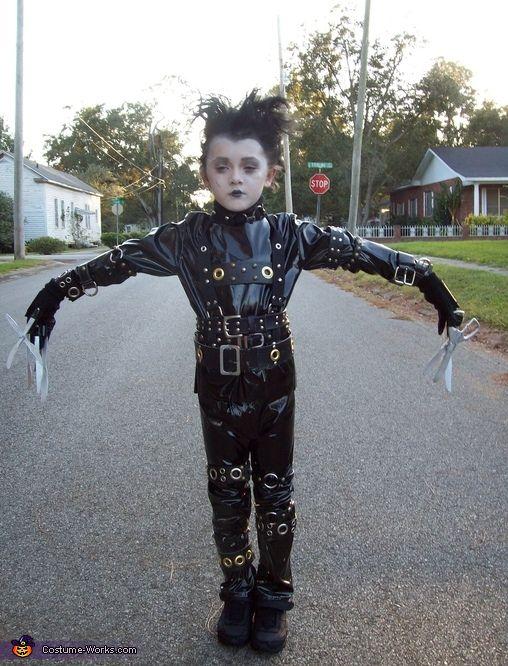 Edward Scissorhands Costume | Edward scissorhands, Edward ...
