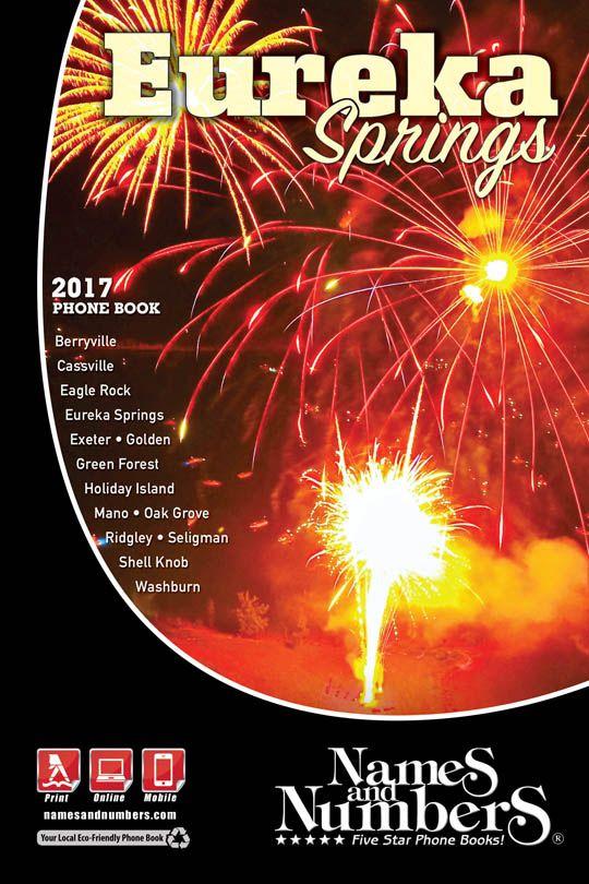 EUREKA SPRINGS (Arkansas) 2017 Phone Book | Visit eurekasprings.namesandnumbers.com to search for local business and residential information in Eureka Springs (AR) and the surrounding area.