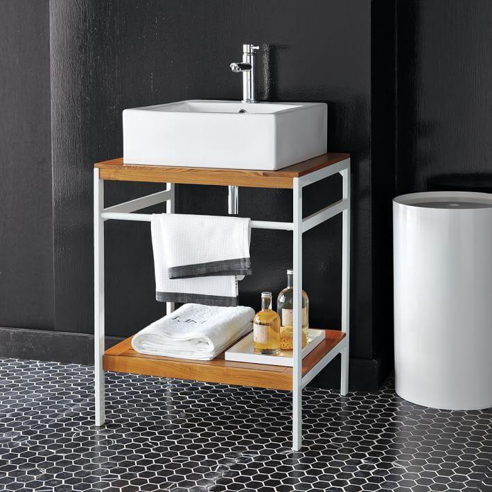 West Elm Bathroom Vanity Innovative Art Badezimmermöbel By No Means Go Out Of Types