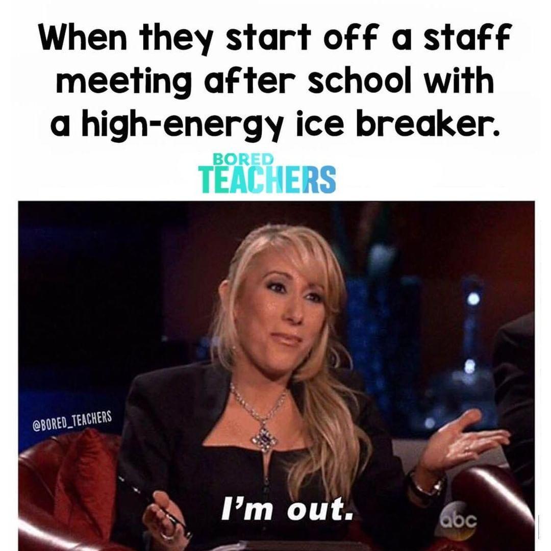 Do I *have* to? TeacherLife Bored teachers, Teacher