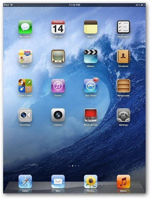 iPad Autocorrection  how to turn it off!