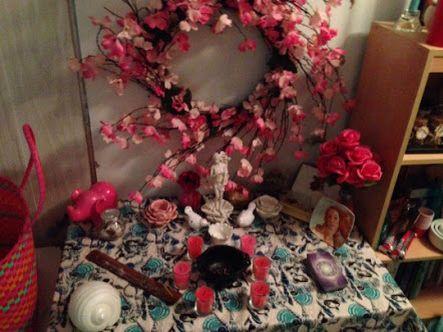 Afrodite's altar