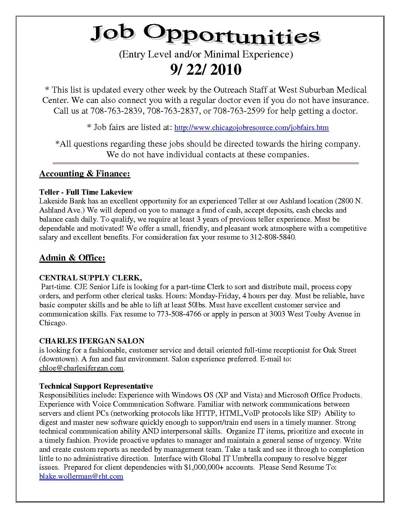 Einzigartig Resume For Bank Tellers Sample Resume For Bank Teller