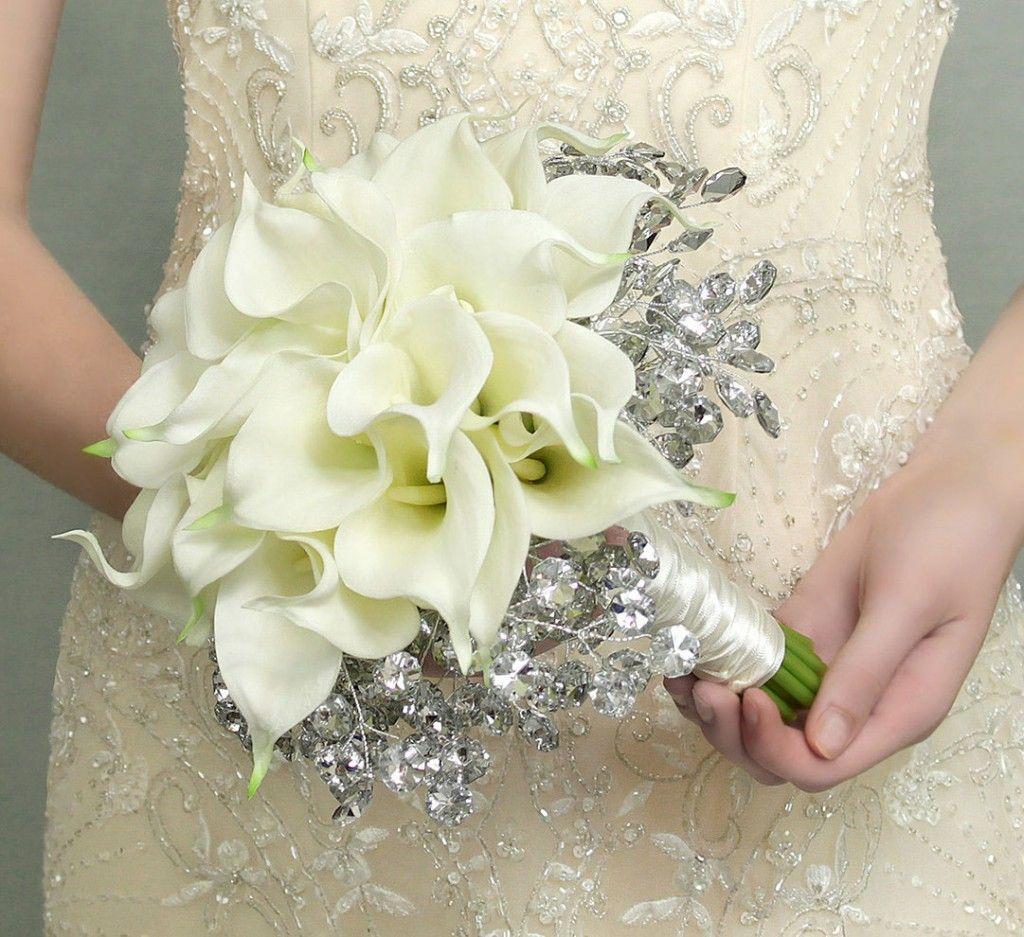 Trend Contoh Gambar Bucket Bunga Tangan Pernikahan Minimalis Calla Lily Bridal Bouquet Beautiful Bridal Bouquet Cheap Wedding Flowers