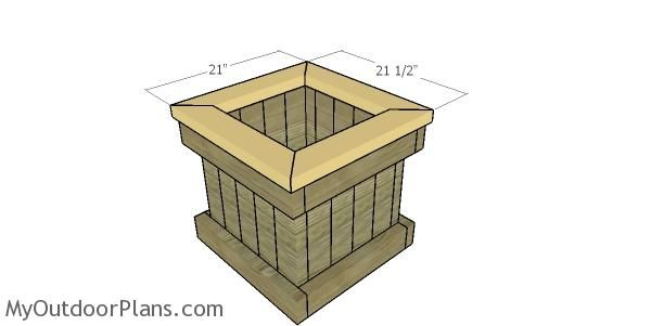 2X4 Planter Box Plans Myoutdoorplans Free Woodworking 400 x 300