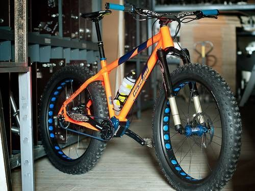 German bicycle manufacturer nicolai has unveiled the worlds first fat bike equipped with a gearbox: #fatbike #bicycle