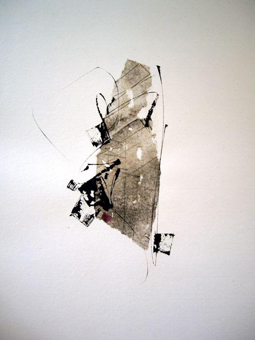 39 by Kitty Sabatier - Pigments sur papier fait main, 50 x 50 cm - 2008 #mark_making #