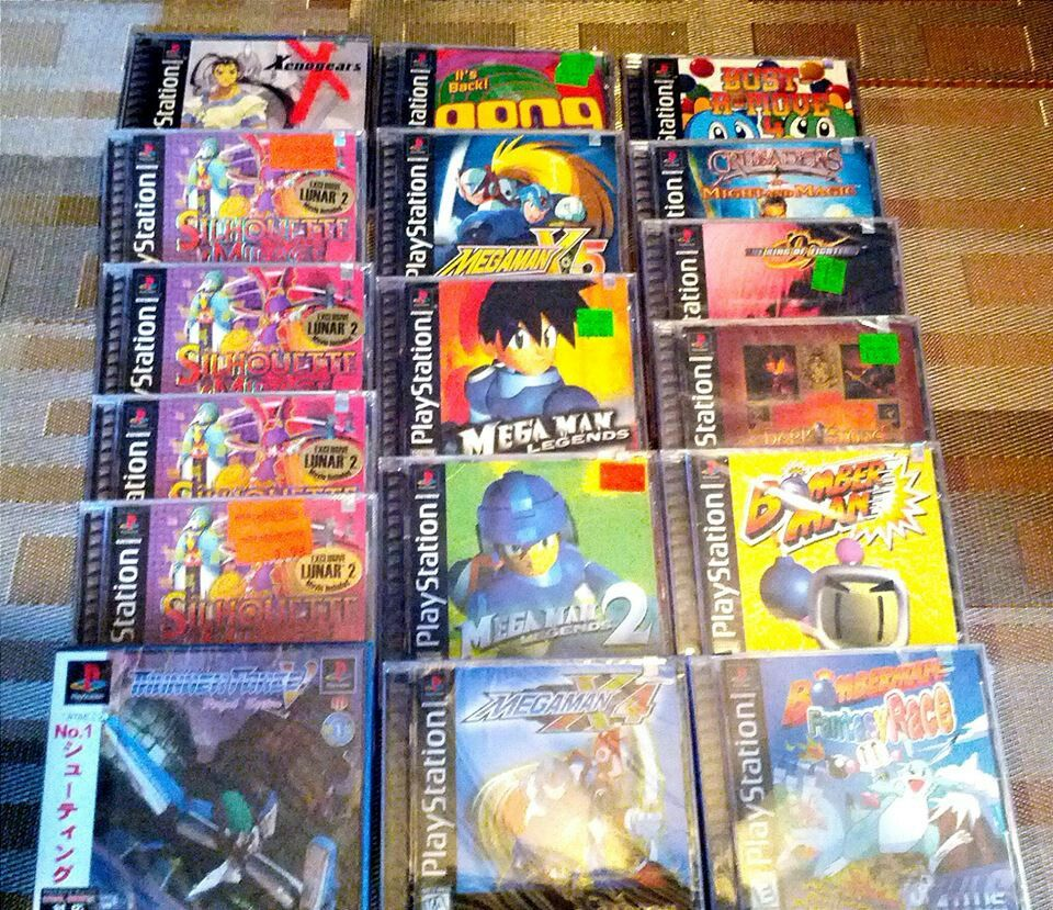 Sealed games for PlayStation