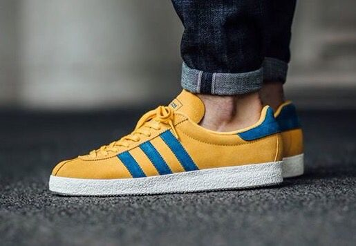 premium selection 70773 9bc0f adidas Originals Topanga YellowBlue Adidas Casual Shoes, Adidas Shoes,  Shoes Sneakers