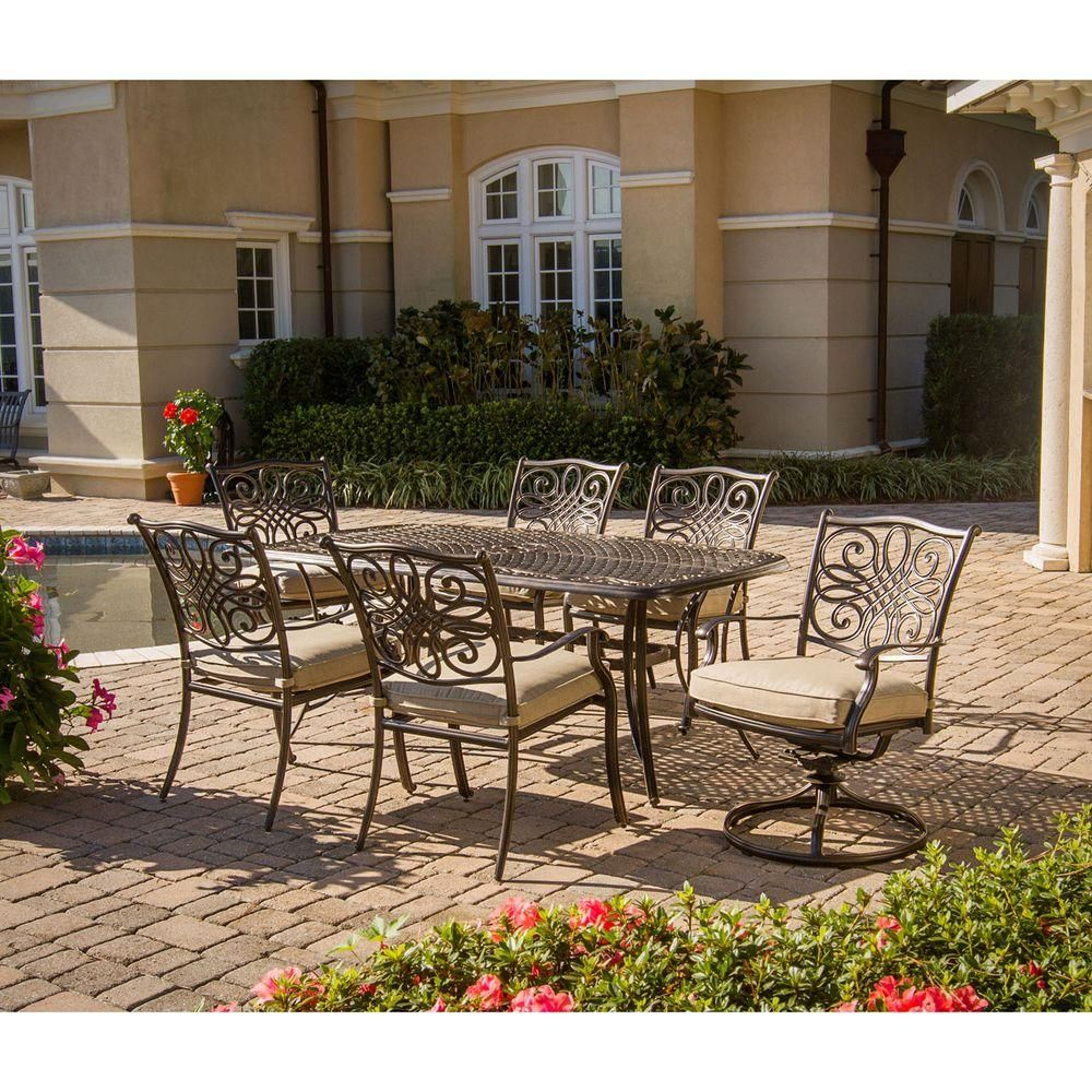 Hanover traditions piece patio outdoor dining set with dining