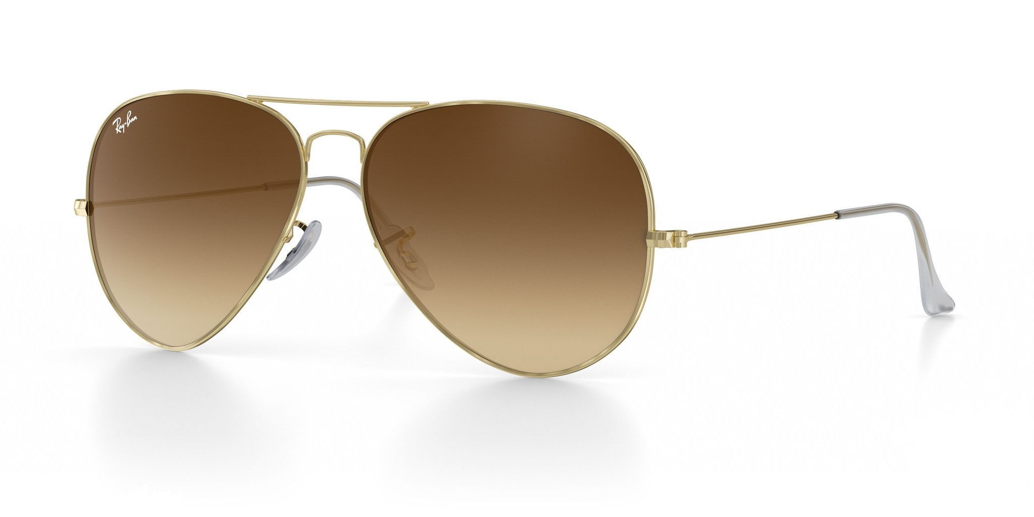 f5c6fd8013a Ray-Ban Aviator Brown Gradient 58MM - Sale! Up to 75% OFF! Shop at ...