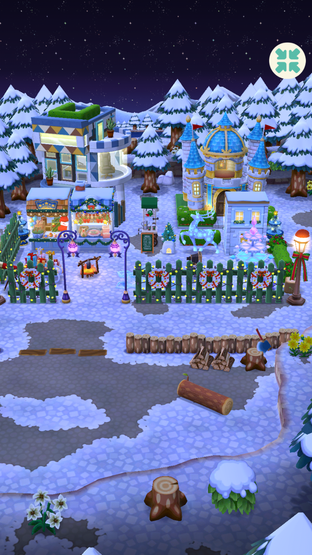 Just a little winter campsite ACPocketCamp (With images