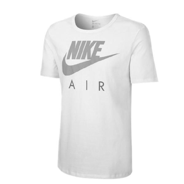 Nike athletic dept xl dunkelblau Tshirt Herren weiß Druck Print
