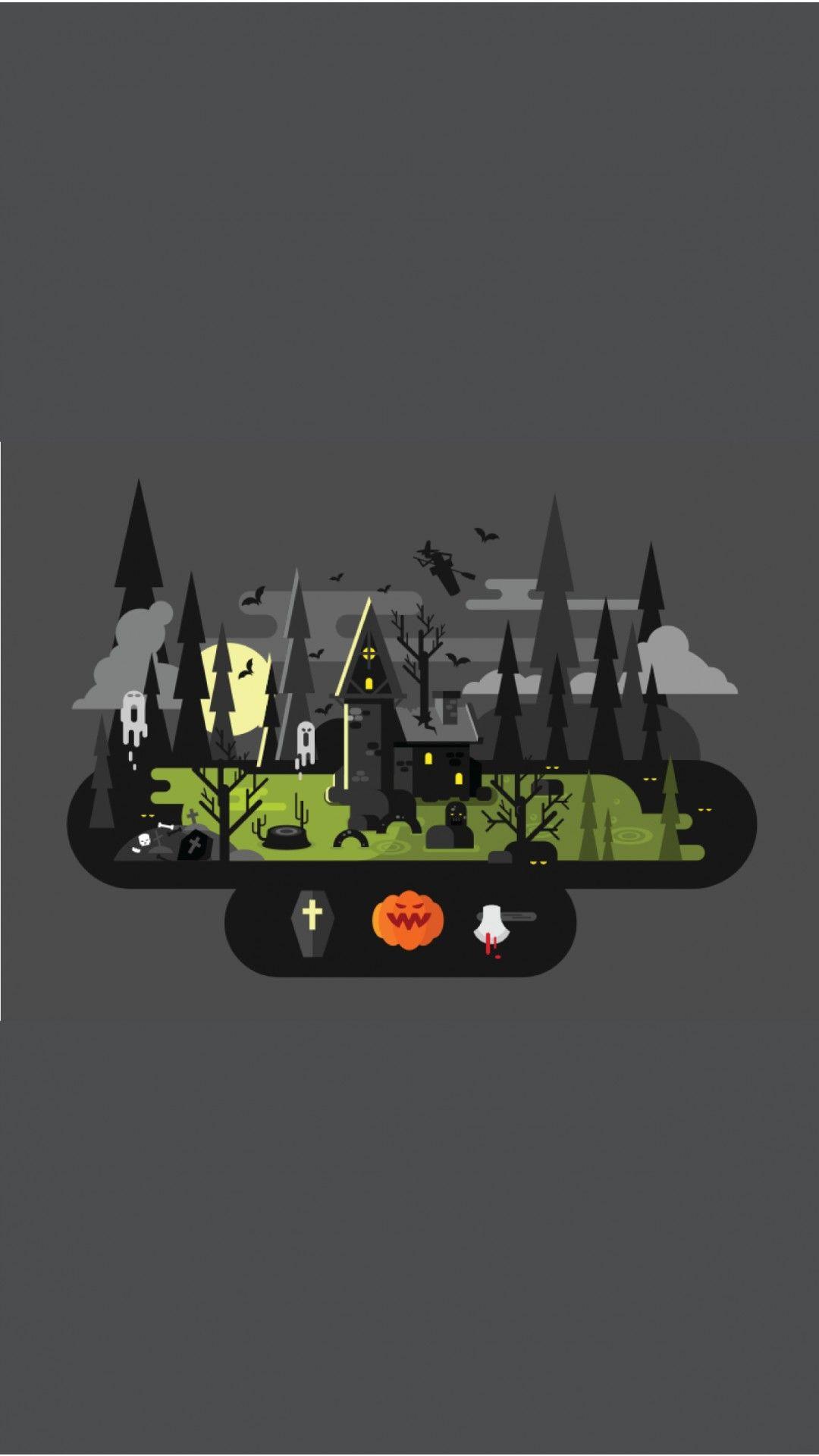 Halloween Vector Halloween Vector Halloween Wallpaper Halloween Illustration