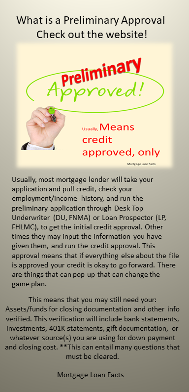 What Does A Preliminary Approval Mean This Is Usually The Beginning Of The Application Process Your Credit Is Mortgage Bad Credit Mortgage Mortgage Lenders