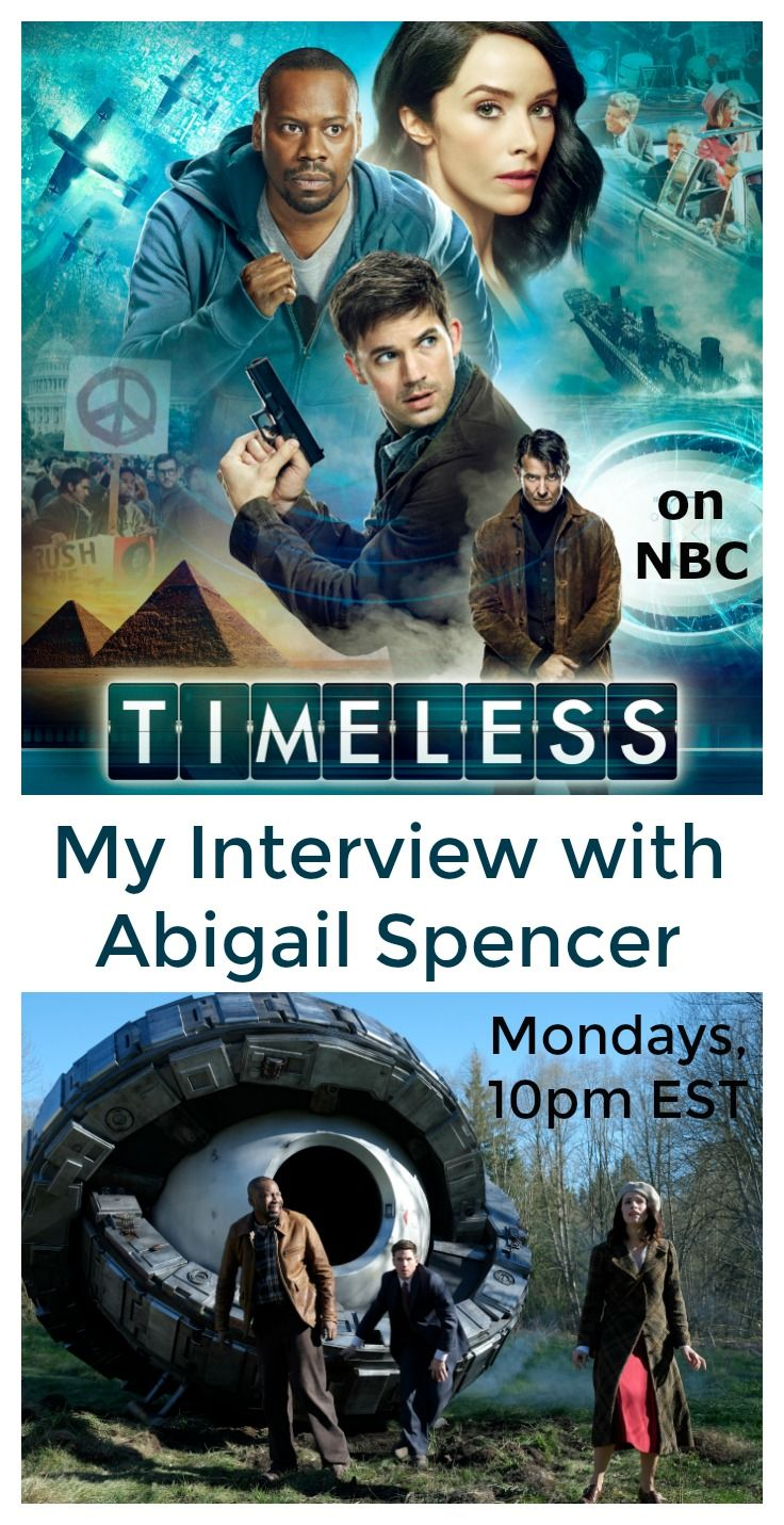 Interview With The Wonderful Aail Spencer Curly Playing Lucy Preston On Nbc S New Tv Series Timeless Ad