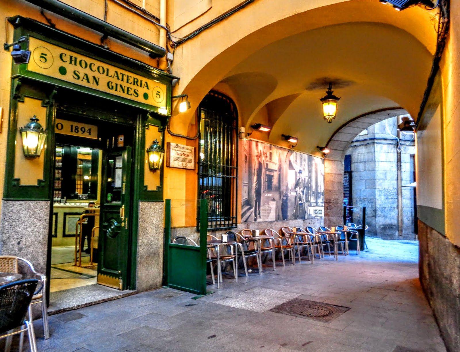 chocolateria San Gines, Madrid | Madrid, Spain, Candy