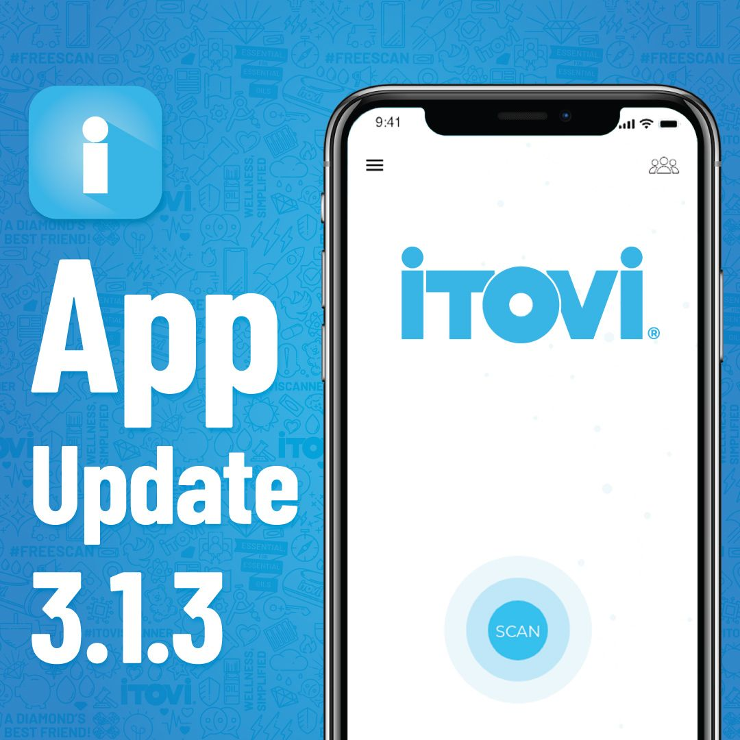 Have you downloaded the newest version of the iTOVi app