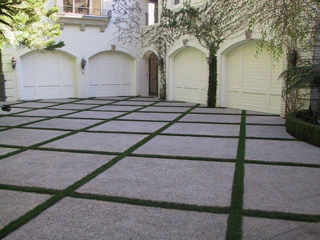Is Your Driveway The First Thing You See When You Pull Up To Your House Call Synlawn La 866 739 Lawn 5296 A House Landscape Grass Driveway Outdoor Gardens