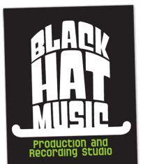 Logo and business card for recording studio black hat music music logo and business card for recording studio black hat music colourmoves