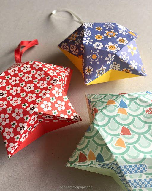 sternenbox zweifarbig faltarbeiten pinterest sterne box und weihnachten. Black Bedroom Furniture Sets. Home Design Ideas