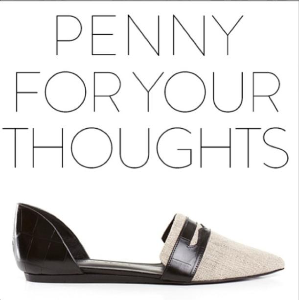 Jenni Kayne Penny D'Orsay Flat ❤