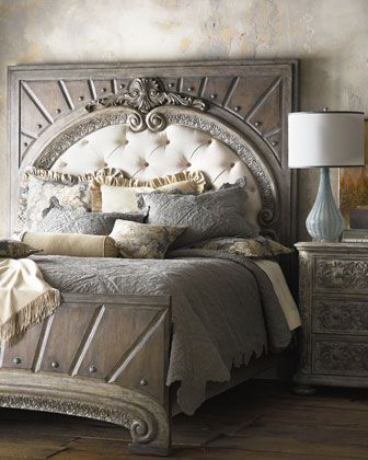 Raleigh King Panel Bed Furniture Modern Bedroom Furniture