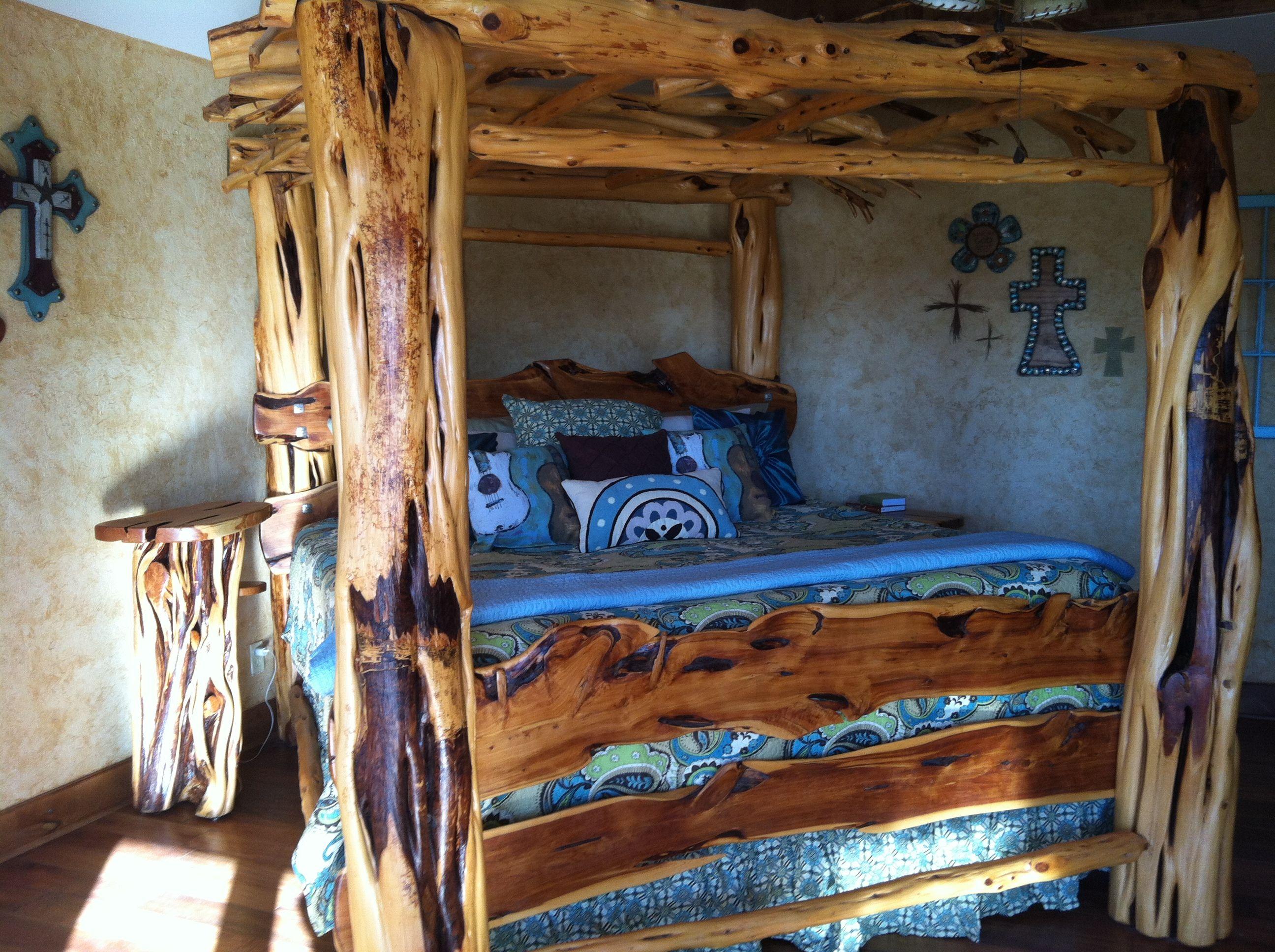 Love My Custom Made Cedar Post Bed Made By Reid S Rustics He Does