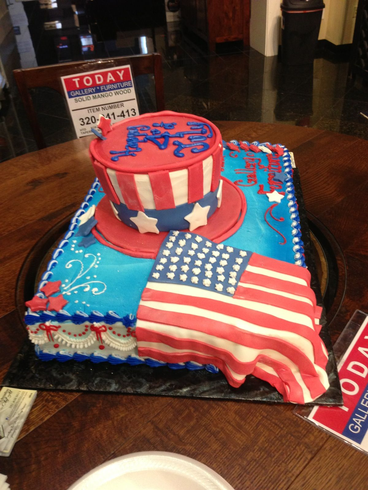 A Huge 4th Of July Celebration Come Out To Enjoy Cookies