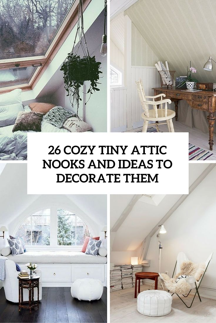 26 Cozy Small Attic Nooks And Ideas To Decorate Them Bedroom
