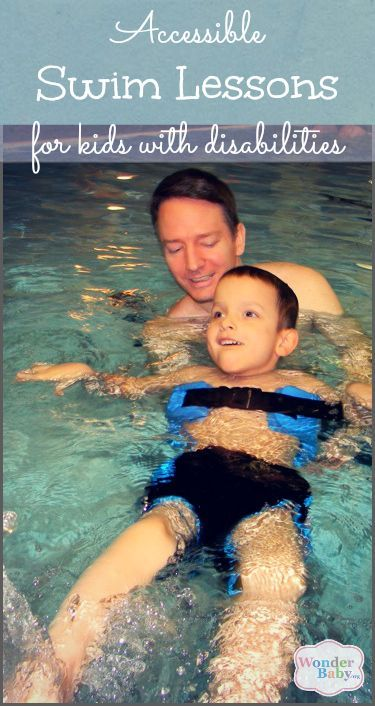Making Swim Lessons Accessible For Blind Children Wonderbaby Org Swim Lessons Blind Children Therapeutic Recreation