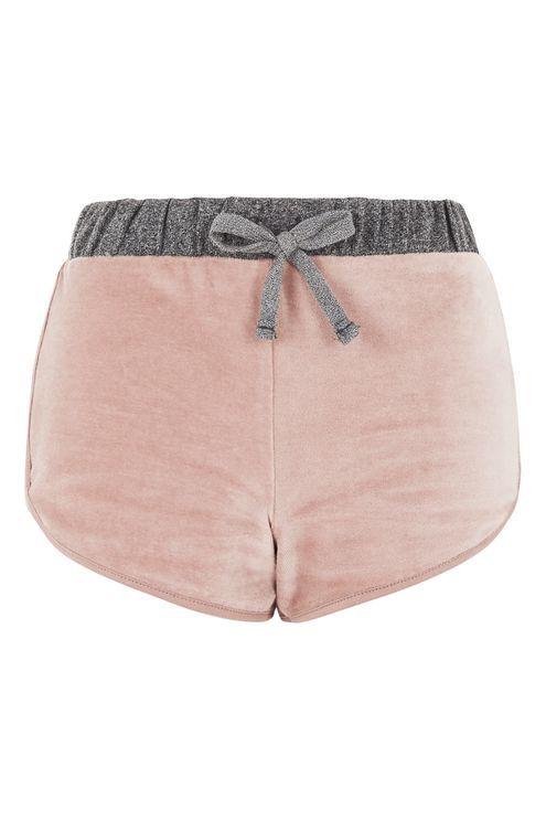 Nude Velour Loungewear Shorts Clothing, Shoes & Jewelry - Women - Clothing - Lingerie, Sleep & Lounge - Lingerie - Lingerie, Sleepwear & Loungewear - http://amzn.to/2lSL4Y7
