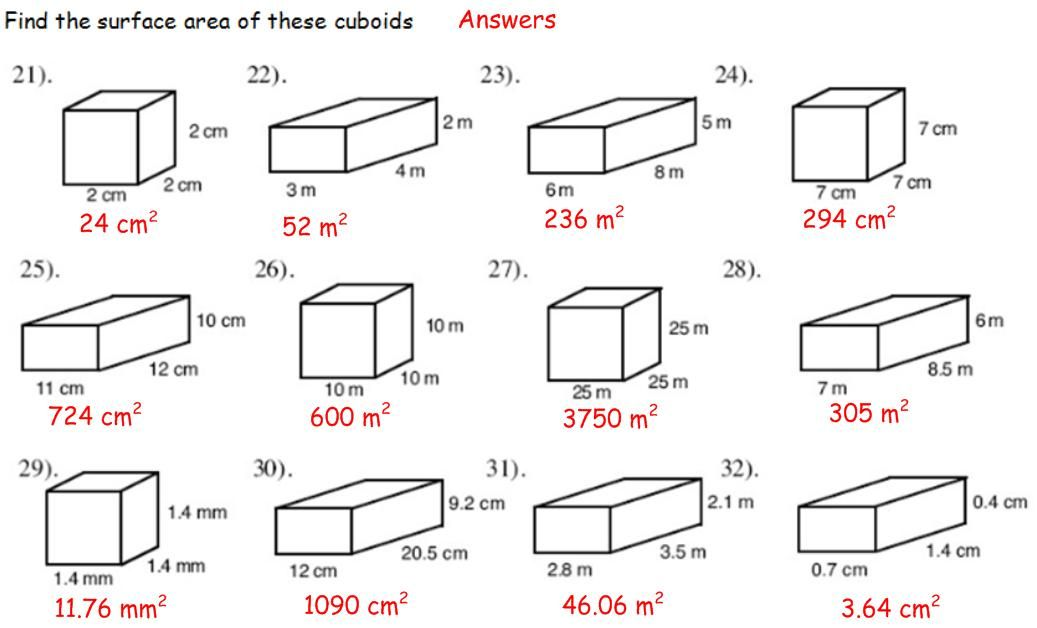 Surface Area And Volume Ks3 Google Search Math Worksheets Volume Worksheets Printable Math Worksheets 6th grade volume worksheet