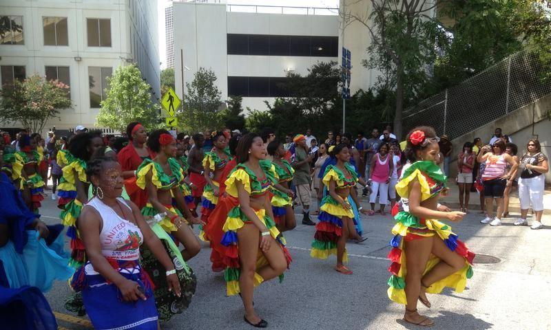 Enjoy the sights and sounds at the Atlanta Caribbean Carnival.