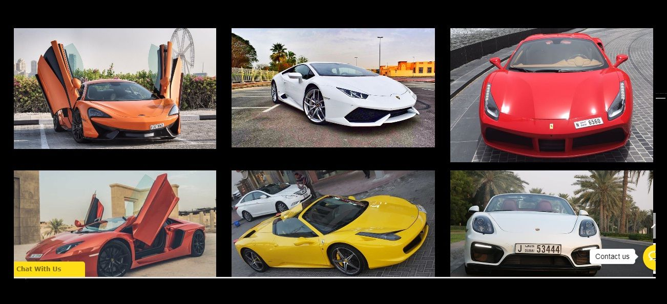 Top Rated Sports Car Rental Dubai Sports Car Rental Car Sports Car